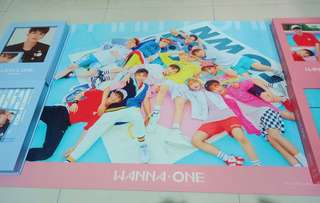 Wanna One To Be One Group poster (Pink ver)