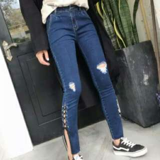 HW Ripped Jeans Denim