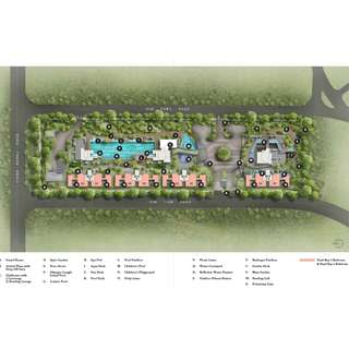 Site Plans & Facilities - Highline Residence