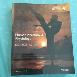 Marieb Human Anatomy & Physiology 10th edition with FREE EBOOK