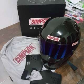 Simpson Bandit full cover set helmet