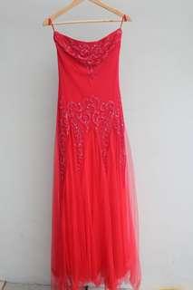Preloved long dress merk Image