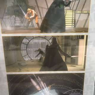 Star Wars limited edition poster