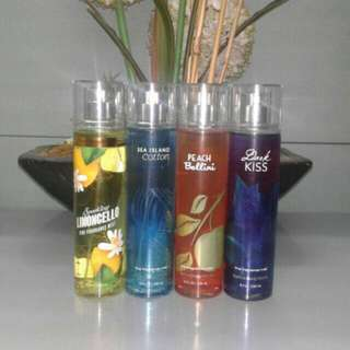 US Authentic Bath And Body Works Fragrances Mist