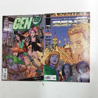 Gen 13, Gen 13 Bootleg Annual Comics Set