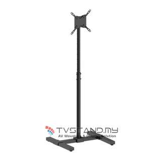 "Economy Height Adjustable Screen Floor Stand Upto 13""-42"""