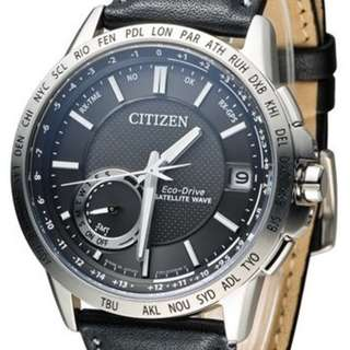 "Citizen Eco-Drive Promaster ""CC3001-01E"" ( 光動能/全球性GPS衛星對時系統/萬年曆/防反射塗層藍寶石玻璃錶面/MADE IN JAPAN )(可簽卡/可分期/現金交易優惠)01/09"