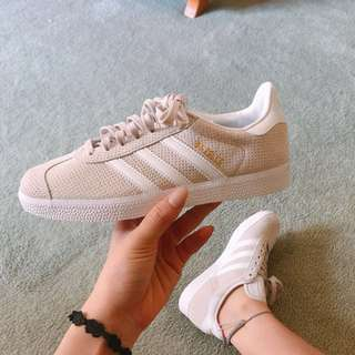 Authentic Adidas Gazelle Beige