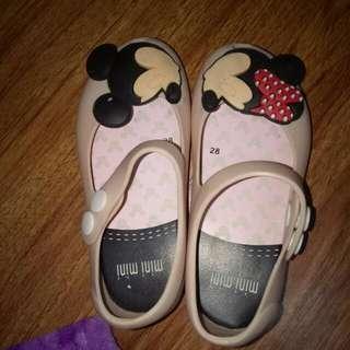 Mini Melissa Doll Shoes