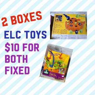 ELC toys gently used excellent condition Manic Martians and Crazy Bee