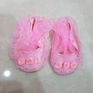 New - Baby Shoes Pink
