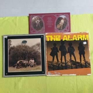 2LP. AMERICA/ THE ALARM. holiday/ for freedom. ( 2 Lp for the price of 1 ) Vinyl record