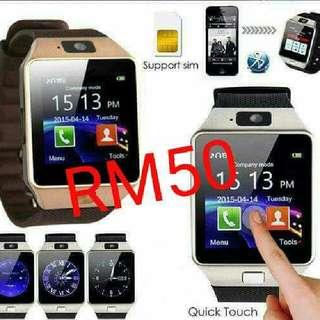 Smart Watch Dz09 RM50 Only !