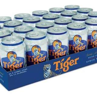 TIGER BEER (24 X 320ML CAN CRATE)