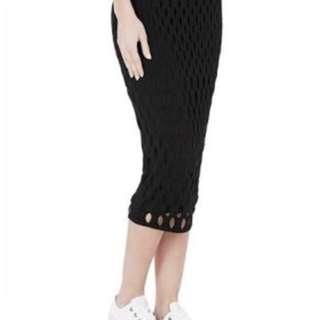 Sass And Bide Black Skirt