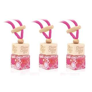 Chupa Chups CHP103 Glass Bottle Air Freshener Strawberry Cream 5mL  (bundle of 3)