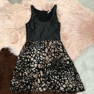 Rock chic dress