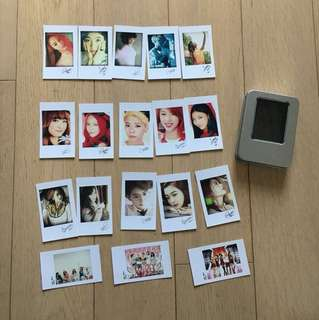 F(x) Fan card set (18 cards with box)