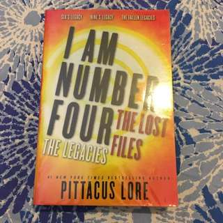 I Am Number Four, The Lost Files; The Legacies