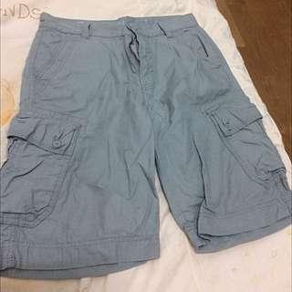 🚚 Calvin Klien [CK]短褲 有腰帶 30腰