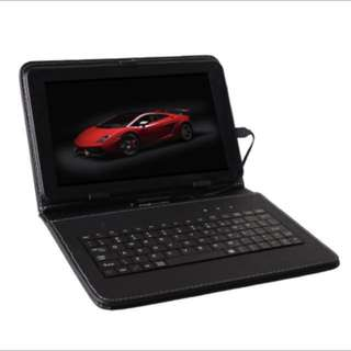 Android Tablet with keyboard Case (Sale for a limited time only!)