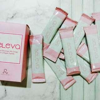 [3 boxes] Seleva Botanical beverage Mix Grape & Collagen Peptide(100% Natural)