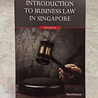 BU8301 Introduction To Business Law In Singapore