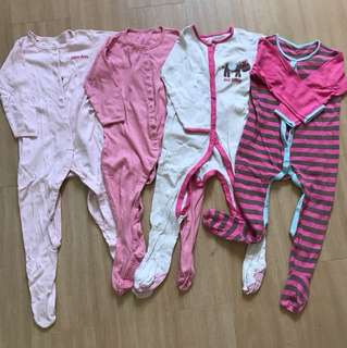 Mothercare Sleepsuits 24-36 months