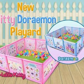 KITTY DORAEMON PLAYARD