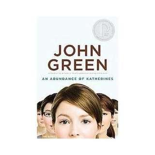 An Abundance of Katherines by John Green (ePub)