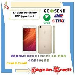 Xiaomi Redmi Note 5A Pro 4GB 64GB - Cash dan Kredit Murah