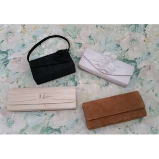 REPRICED 4 Clutches for only 300