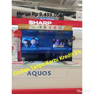 SharpLed Tv Kredit0% TanpaKartuKredit MallTamanAnggrek