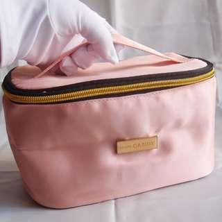 New Prada Parfums / Candy 專櫃贈品粉紅色拉鏈手提化妝袋 Pink Cosmetic Makeup Pouch