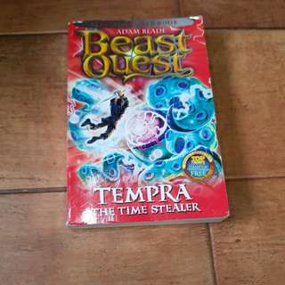 TEMPRA THE TIME STEALET BEAST QUEST