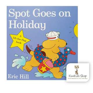 Spot Goes on Holiday- baby board book