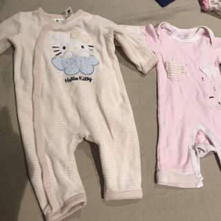 Baby girl 0-3m body suit