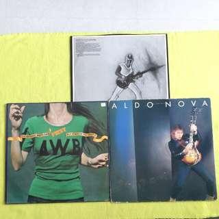 2LP. AVERAGE WHITE BAND/ ALDO NOVA. put it where you want it/fantasy. I( 2 Lp for the price of 1 ) Vinyl record
