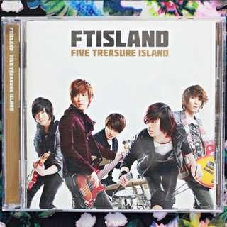FTIsland 「Five Treasure Island」CD+LIVE