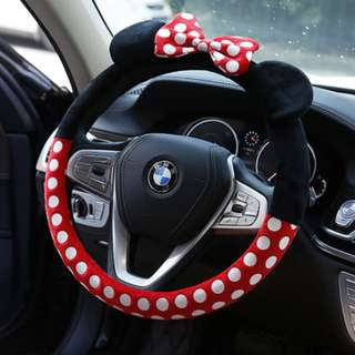 Cute Mickey Car steering cover