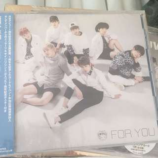 Sealed Instock Official Bangtan Boys Bts for you special anniversary cd