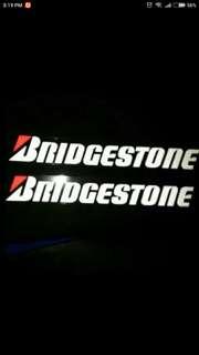 Bridgstone Reflective decal