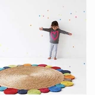 Armadillo and Co Flower Weave Rug