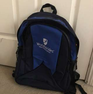 Worldstrides bagpack in very good condition