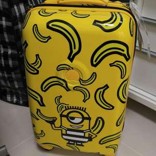 "Minions X Delsey 21"" 旅行喼"