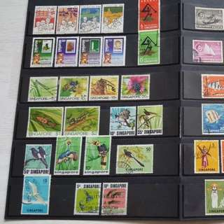 Stamps to let go