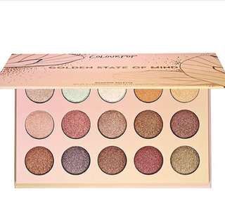<INSTOCK> Colourpop Golden state of mind eyeshadow palette