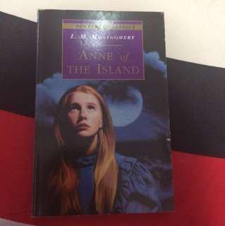 ANNE of THE ISLAND by LM Montogomery