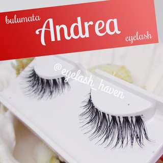Andrea: Bulumata Eyelash Natural Volume, Wispy, Sexy