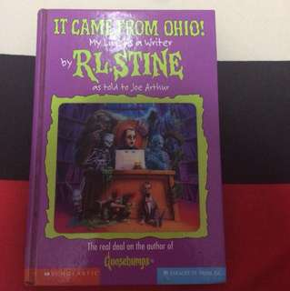 It Came from Ohio! My Life As A Writer by RL Stine (Hardbound)